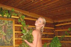 Волочкова устроила новую фотосессию в бане