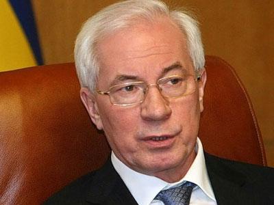 Азаров хочет в первую очередь наладить торговые отношения с Россией