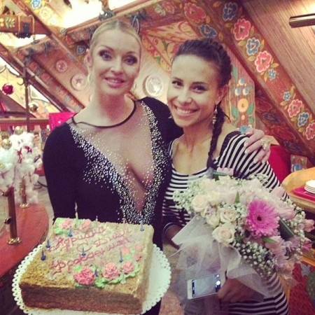 Анастасия Волочкова во всей «красе»