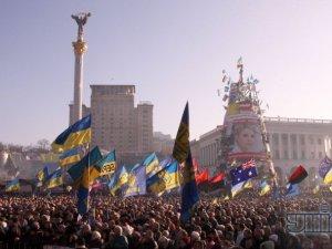 Новый год в Киеве с народным вече