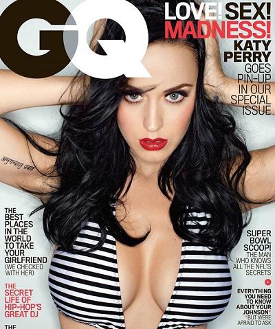 Кэти Перри украсила обложку издания GQ